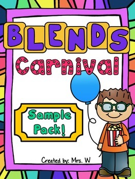 Blends Carnival Sample Pack - TpT Milestone Freebie