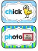 Blends & Digraphs Mini-Reference Posters Color/B&W {Turquo