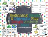 Blends & Digraphs Play Dough Activity Mats