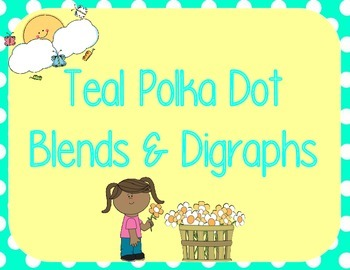 Blends & Digraphs Wall Cards