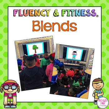 Blends Fluency & Fitness Brain Breaks Bundle