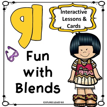 Blends Fun / GL Blend Interactive Matching Cards & Activit