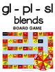 Blends - Initial gl, pl, sl Literacy Centers