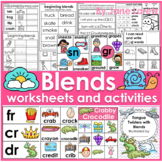 Blends (Lessons, Center Activities, Worksheets and a Class