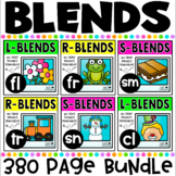 Blends No Prep Printables MEGA Bundle