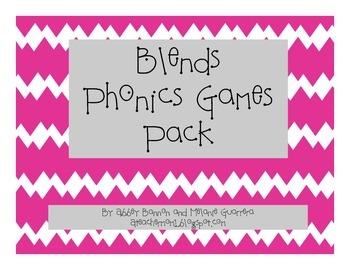 Blends Phonics Games Pack