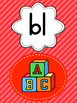 Blends & Digraph Posters Display - Beginning blends S, L &
