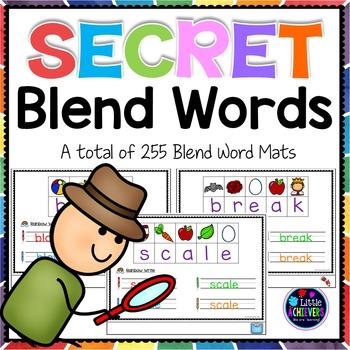 Secret Words Blends Bundle
