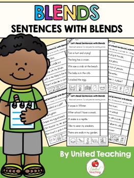 Blends: Sentences with Blends Bundle
