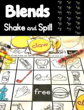 Blends Shake & Spill!