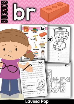 Blends Worksheets and Activities - BR