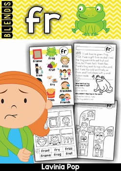 Blends Worksheets and Activities - FR