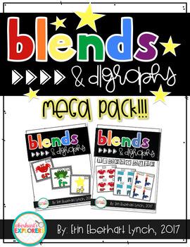 Blends and Diagraphs MEGA PACK!!