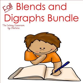 Blends and Digraphs Bundle ELA CCSS RF.2.3; RF.1.3