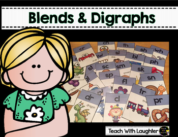 Blends and Digraphs Cards