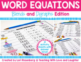 Blends and Digraphs Word Equations