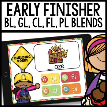 Blends (bl, gl, cl, fl, pl) Early Finisher PPT
