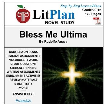 Bless Me Ultima: LitPlan Teacher Guide - Lesson Plans, Que
