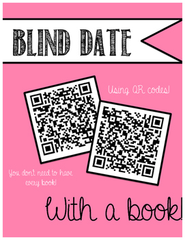 Blind Date with a Book - Using QR Codes!