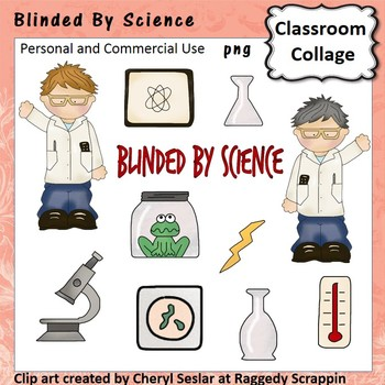 Blinded by Science - Color - pers/com  scientist beaker mi