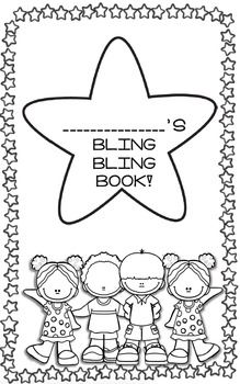Bling Bling Book- A Positive Behavior Sticker Book by Kind