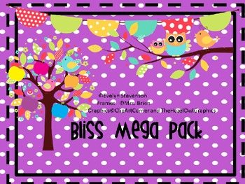 Bliss  Editable Mega Pack