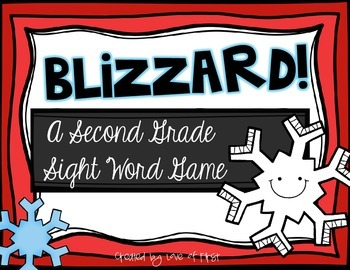 Blizzard-A Second Grade Sight Word Game