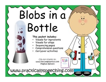Blobs in a Bottle: A Comprehension and Sequencing Packet