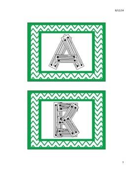 Block Center Alphabet