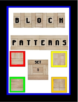 Block Patterns Set 1 (simple patterns)