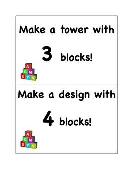 Block Task Cards
