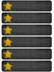 Blomm's Taxonomy in Spanish-Chalboard Stars