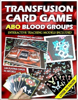 Blood Groups: Interactive Card Game and Teaching Models