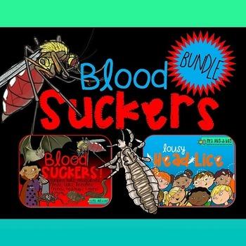 Blood Suckers Bundle {Head lice, fleas, ticks, leeches, va