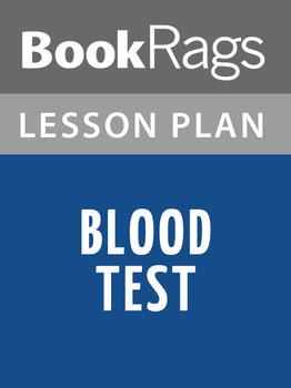 Blood Test Lesson Plans