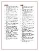 Blood on the River: Synonym/Antonym Vocab Crossword--Use w