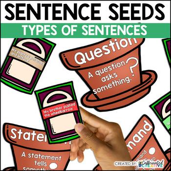 Sentence Seeds Center Game