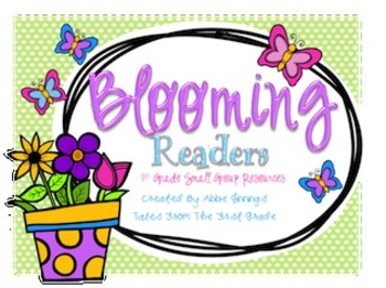 Blooming Readers- Intervention/Small Group Activities