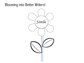 Blooming into better writers- figurative language spring b