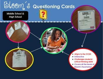 Bloom's Interactive Questioning Cards