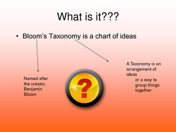 Bloom's Taxonomy for critical thinkers