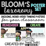 Bloom's Taxonomy Posters {Bright & Simple}