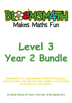 Bloomsmath Differentiated Maths Activities Bundle for Year 1
