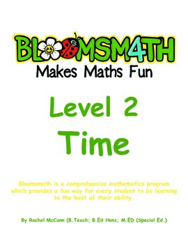 Bloomsmath Differentiated Time Maths Activities for Year 1
