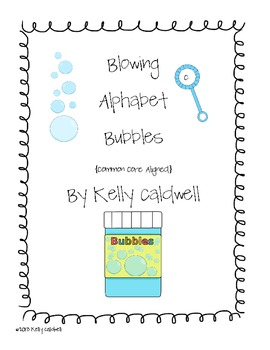 Blowing Alphabet Bubbles {CC Aligned}