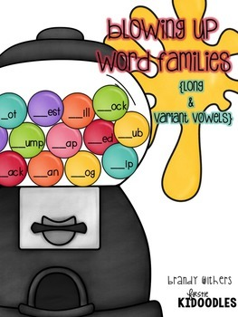 Blowing Up Word Families {The Bundle}