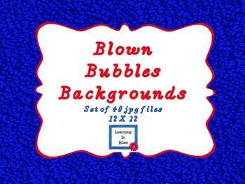 Blown Bubbles Backgrounds