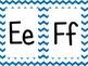 Blue Chevron Alphabet (large)