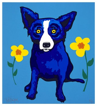 Blue Dog Art Lesson  George Rodrigue