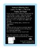 Blue LLI Weekly Homework Kit for Level L. CCSS